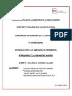 MATRIZ DE RESPONSABILIDADES CO-BID