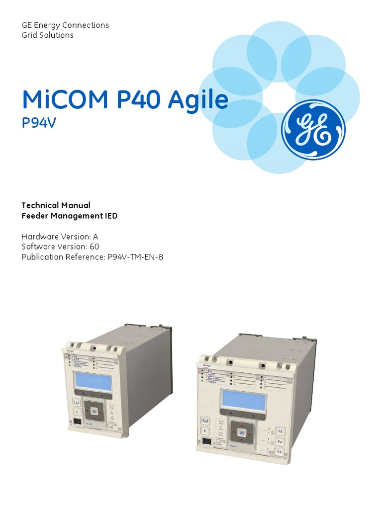 Micom P40 Agile Power Supply Computing