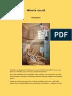 Historia Natural - Pere Calders
