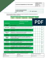 PSO-FO23 Evaluación de desempeño del practicante