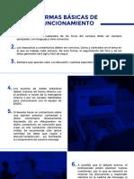 NORMAS BÁSICAS DE FUNCIONAMIENTO revit eadic