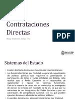 CONTRATACIONES DIRECTAS