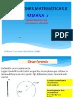 Semana _03_GEOMETRIA ANALITICA-CIRCUNFERENCIA Y PARABOLA.pptx