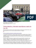 Universitarios y docentes marcharon contra la Ley 30 [08-10-11].pdf