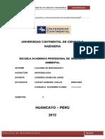 INFORME DE MICROBIOLOGIA - COLUMNA DE WINOGRADSKY
