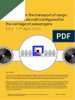 guidance-safe-transportation-cargo-passenger-cabin