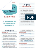 How to Talk to Kids About Patriotism