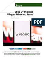 EY Accused Of Missing Alleged Wirecard Fraud | PYMNTS.com