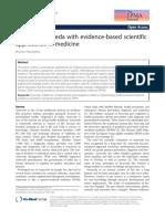 ayurveda and evidence based medicine