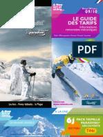 2010 Guide Tarifaire Fr