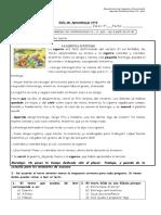 Guía de aprendizaje Lenguaje N° 4 abril