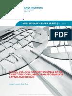 El rol del juez constitucional en el constitucionalismo transformador.pdf