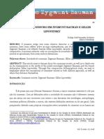 Sociedade de Consumo em Zygmunt Bauman e Gilles Lipovetsky