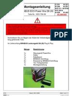 Brabus Montageanl D6 III 5 Leiterkabel Plug & Play Lei Stung Skit V09 XXX-736-00