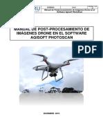 Manual de Procesamiento Imagenes Drone con Agisoft Photoscan - GeoPeru