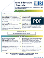 Sexual Recovery Institute's Winter/Spring Saturday Lecture Series Calendar 2011