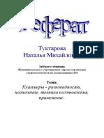 Реферат кламмера.doc