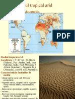 Referat Geografie-mediu Tropical Arid