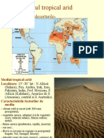 Referat Geografie-mediu Tropical Arid