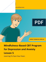Mindfulness Lesson 5 Homework
