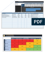 Risk Assessment with Dashboard