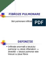 FIBROZE PULMONARE
