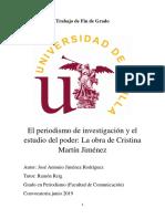 Estudio de la obra de Cristina Martín Jiménez