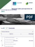 Sexta Encuesta Nacional sobre Corrupción 2010