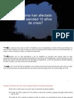 Sistemas sanitarios.PIB.