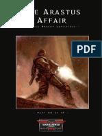 Dark Heresy - The Arastus Affair