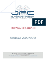 BY PASS DEBLOCAGE