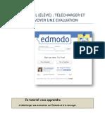 Tutoriel Edmodo (élève) - Télécharger et renvoyer une évaluation