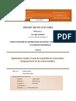 Application mobile et web de traçabilité de réservation d'équipements et de consommables