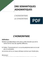 C9_Homonymie, synonymie