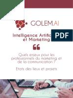 Livre Blanc IA & Marketing Golem.ai