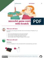 Microbit Scratch game controller