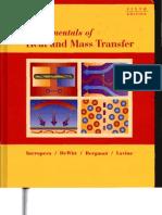 Fundamentals of Heat and Mass Transfer-Incropera-6th-Book