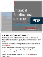 8. Chemical bonding and structure ppt