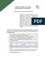 PORTARIA PRPG n.54, de 22 de maio  de 2020