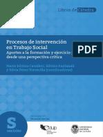 Cavalleri, Pantanali, Perez, Torrecilla. Procesos de intervencion en Trabajo Social