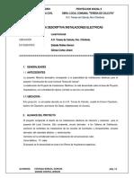 4.= MEMORIA DESCRIPTIVA DE INSTALACIONES ELECTRICAS