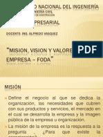 misionvisionyvaloresdeunaempresa-111208181357-phpapp02