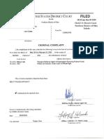 Toledo City Council Criminal Complaint