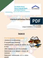 Intertextualidad IV° medio