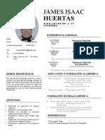 CV JAMES HUERTAS