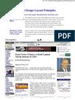 Web Design Layout Principles