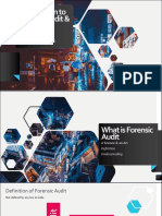 Introduction Forensic Audit Reporting
