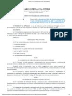 DECRETO Nº 9.406, DE 12 DE JUNHO DE 2018 - Imprensa Nacional 2