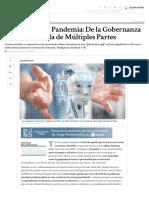 El mundo post Pandemia