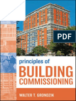 Principle of Building Commissioning